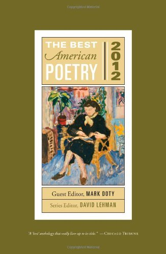 David Lehman The Best American Poetry 2012
