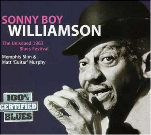 Sonny Boy Williamson Unissued 1963 Blues Import Gbr