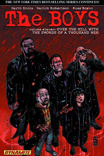 Garth Ennis The Boys Volume 11 Over The Hill With The Swords Of A Thousand Men