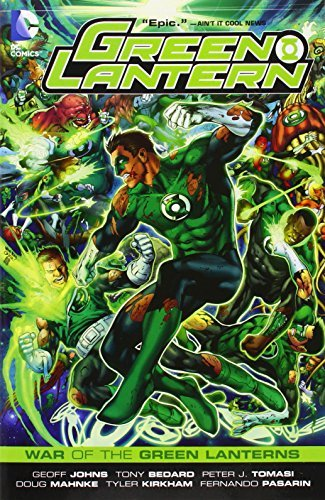 Geoff Johns Green Lantern War Of The Green Lanterns