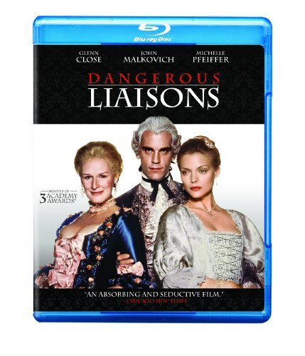 Dangerous Liaisons Malkovich Close Reeves Blu Ray Ws Nr