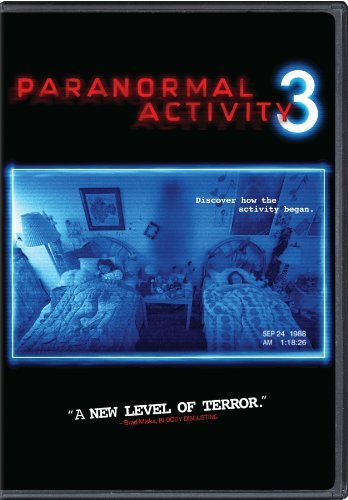 Paranormal Activity 3 Featherston Grayden Bittner DVD R Ws
