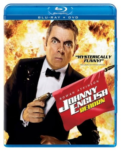 Johnny English Reborn Atkinson Rowan Blu Ray Ws Pg Incl. DVD Dc Uv