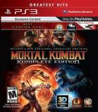 Ps3 Mortal Kombat Komplete Ed. Whv Games M
