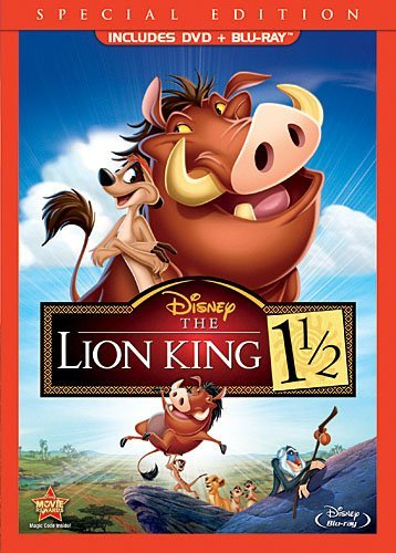 Lion King 1 1 2 Lion King 1 1 2 Blu Ray Ws Special Ed. G Incl. DVD