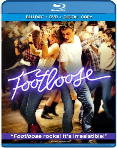 Footloose (2011) Wormald Hough Quaid Blu Ray DVD Dc Pg13