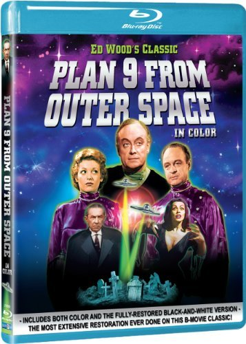 Plan 9 From Outer Space Lugosi Vampira Johnson Manlove Blu Ray Ws Nr