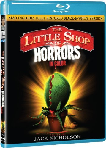 Little Shop Of Horrors (1960) Nicholson Haze Joseph Welles Blu Ray Ws Nr