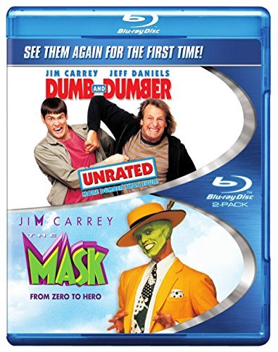 Mask Dumb & Dumber Carrey Jim Blu Ray Ws Nr
