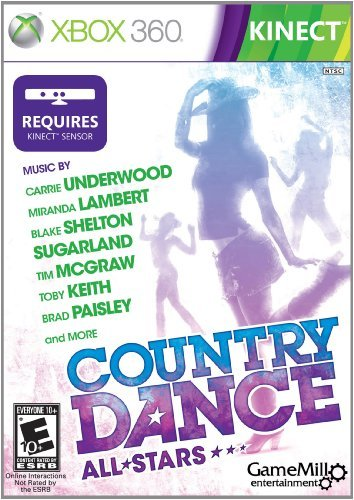 X360 Kineect Country Dance E10+