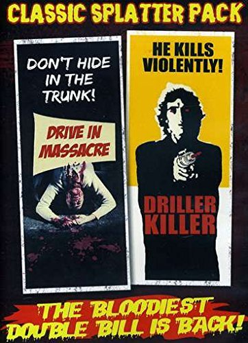 Drive In Massacre Driller Kill Classic Splatter Pack Nr