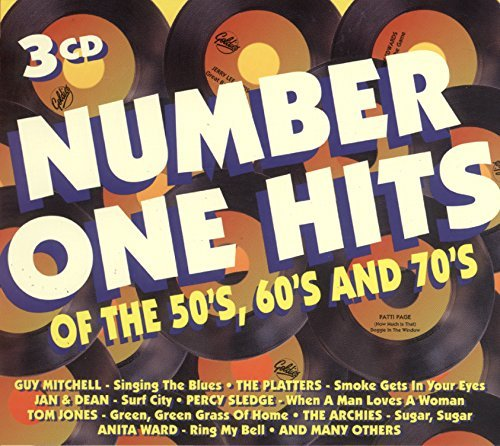 '60s & Number One Hits Of '50s Number One Hits Of '50s '60s & Import Eu 3 CD