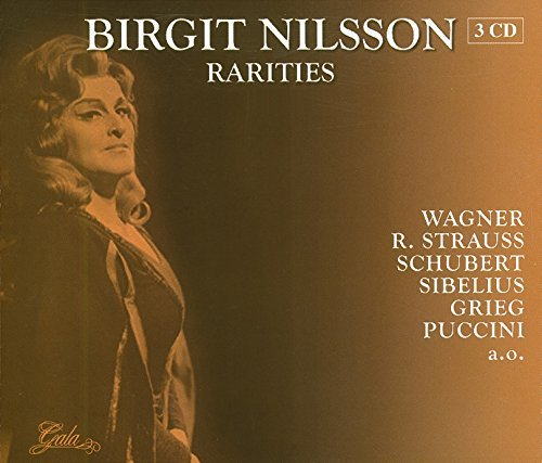 Birgit Nilsson Rarities Import Eu 3 CD