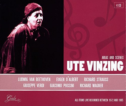 Ute Vinzing Portrait Import Eu 4 CD