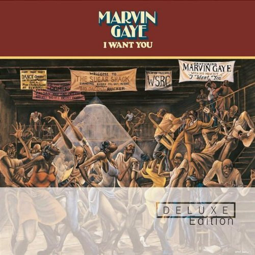 Marvin Gaye I Want You Deluxe Ed. 2 CD