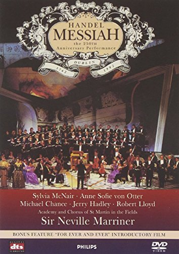 George Frideric Handel Messiah 250th Anniversary Perf Mcnair Von Otter Chance & Marriner Asmf