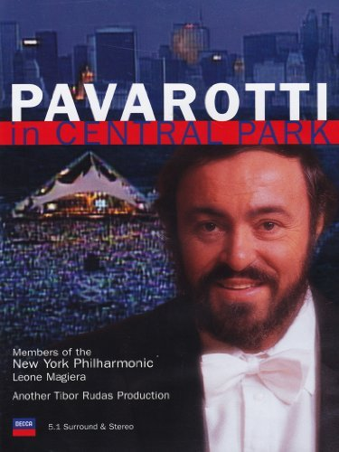 Luciano Pavarotti Pavarotti In Central Park Turnbull New York Phil