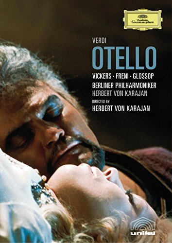 Giuseppe Verdi Otello Vickers Freni Glossop Bottion Karajan Berlin Phil