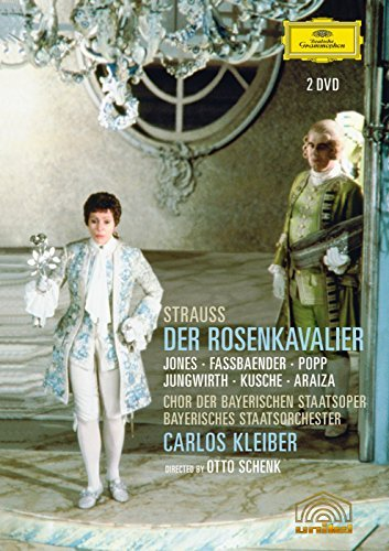 Richard Strauss Rosenkavalier Jones Jungwirth 2 DVD
