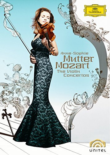 Wolfgang Amadeus Mozart Cons Vn Mutter*anne Sophie (vn) 2 DVD