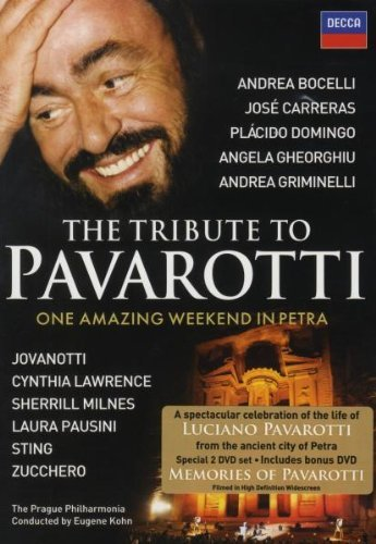 Tribute To Pavarotti Tribute To Pavarotti Bocelli Sting 2 DVD