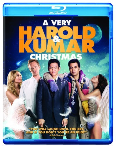 Very Harold & Kumar Christmas Cho Penn Harris Blu Ray Movie Only + Digital Copy