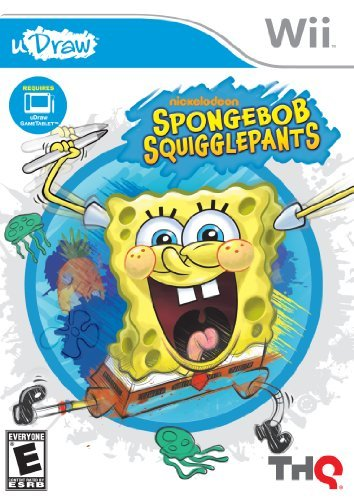 Wii Spongebob Squigglepants (udraw Thq Inc. E
