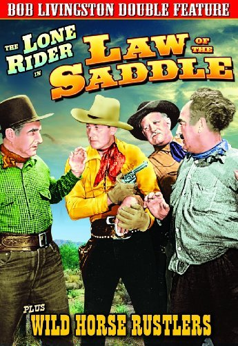 Law Of The Saddle (1945) Wild Livingston Robert Bw Nr