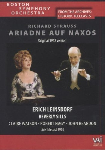 Richard Strauss Ariadne Auf Naxos Sills Watson & Leinsdorf Boston So