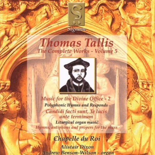 Thomas Tallis Vol. 5 Oeuvres Complstes
