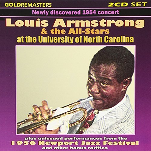 Louis & All Stars Armstrong Live At The University Of Nort 2 CD Set