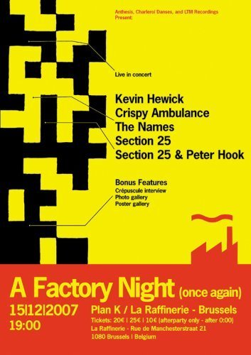 Factory Night (once Again) 15. Factory Night (once Again) 15. Ntsc Region 0