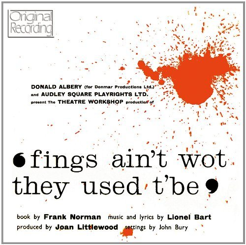 Fings Ain't Wot They Used T'be Original London Cast Import Gbr
