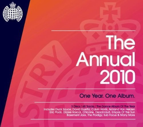 Ministry Of Sound Annual 2010 Uk Edition Import Gbr 3 CD