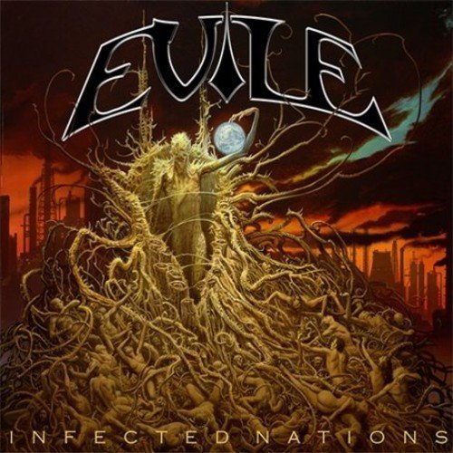Evile Infected Nations Deluxe Import Gbr Incl. Bonus DVD