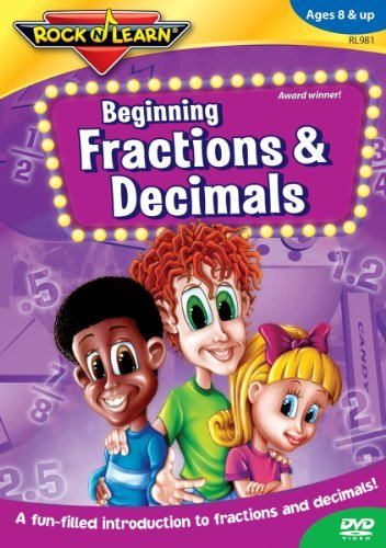 Beginning Fractions & Decima Rock'n Learn Nr