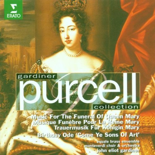 H. Purcell Music For The Funeral Of Queen Lott Brett Allen Gardiner Monteverdi Choir & Or