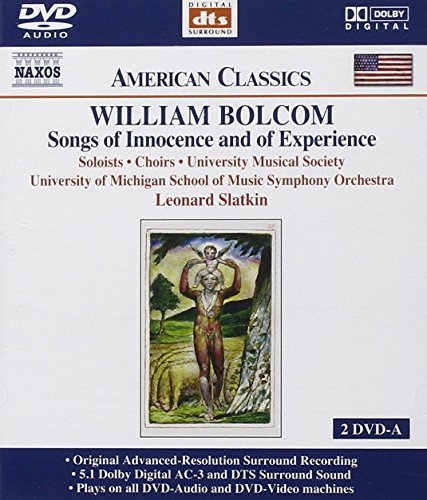 W. Bolcom Bolcom Songs Of Innocence 2 DVD Slatkin Univ Of Mich So
