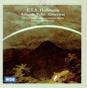 E.T.A. Hoffmann Music For The Stage Goritzki German Chbr Acad Neus