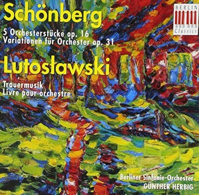 A. Schoenberg Five Pieces For Orchestra Rogner Rso Berlin