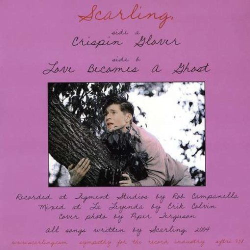 Scarling Crispin Glover Love Becomes A 7 Inch Single Crispin Glover Love Becomes A
