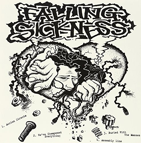 Falling Sickness Dysentery Split 2 Artists On 1