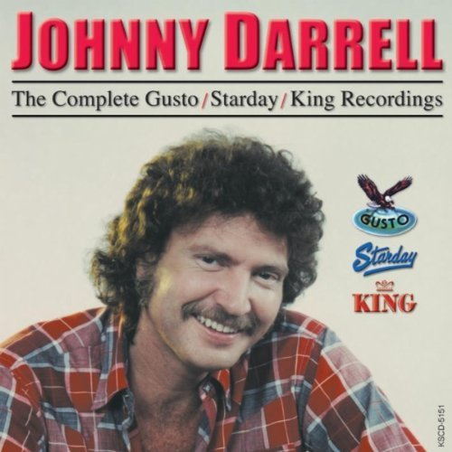 Johnny Darrell Complete Gusto Starday