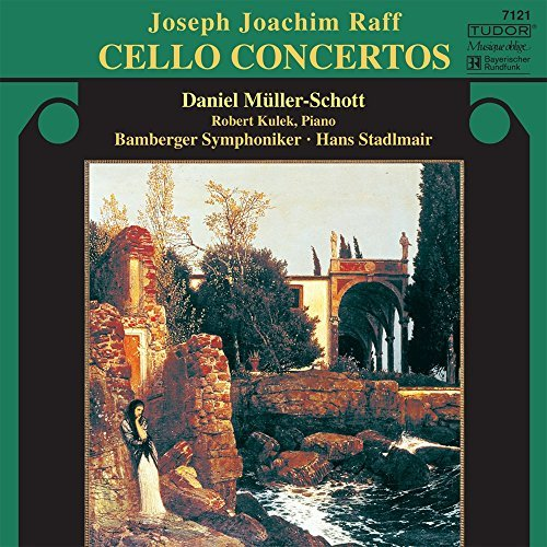 J. Raff Cello Concertos No. 1 & 2 Beg Schott (vc) Kulek (pno) Stadlmair Bamberger So