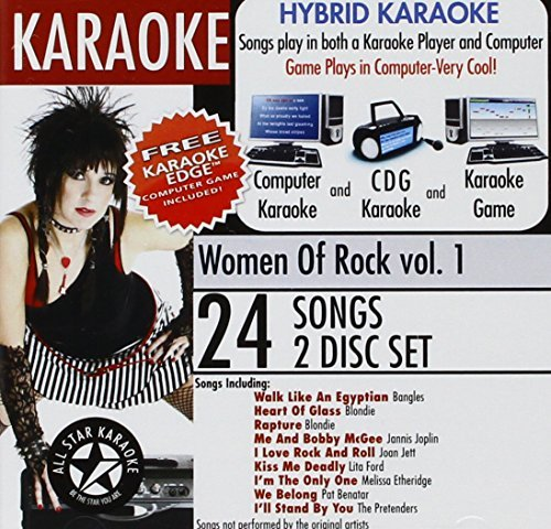 Karaoke Women Of Rock Karaoke Women Of Rock Aud400 N847 Ausk