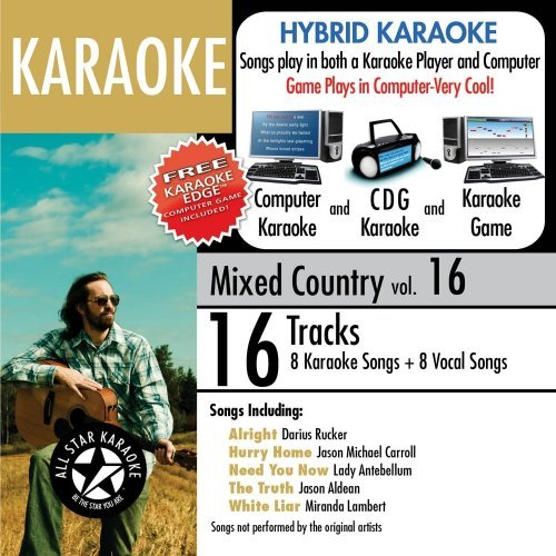 Karaoke Mixed Country 16 Karaoke Mixed Country 16