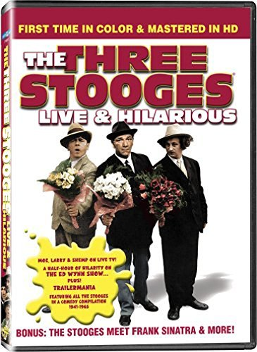 Live & Hilarious Three Stooges Nr