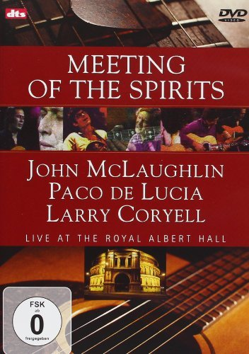 John Paco De Lucia Mclaughlin Meeting Of The Spirits (pal Re Import Eu Pal (0)