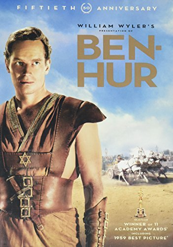 Ben Hur Heston Charlton Ws 50th Anniv Ed. G 2 DVD