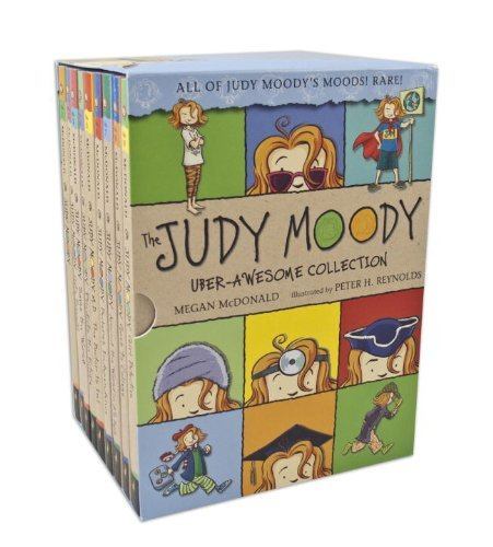 Megan Mcdonald The Judy Moody Uber Awesome Collection Books 1 9